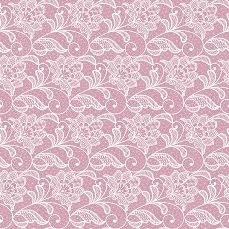 seamless  lace  floral   background.