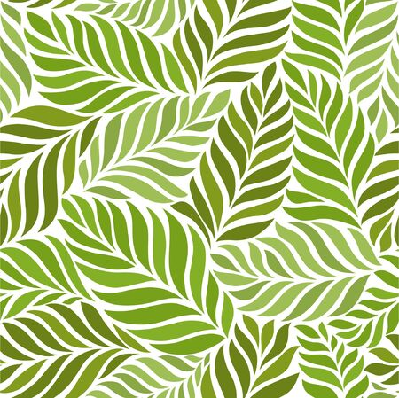 Seamless abstract green floral background Imagens - 149245241