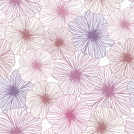 seamless abstrac floral  background