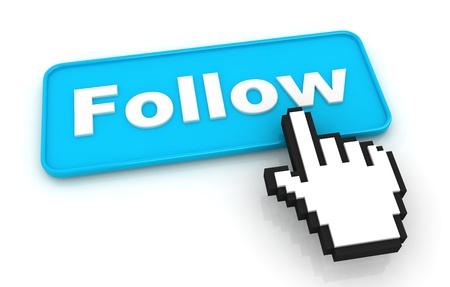 seguito: Follow Me Button con il cursore a forma di mano