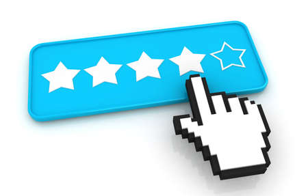 votaciones: Estrellas Valoraciones bot�n con el cursor