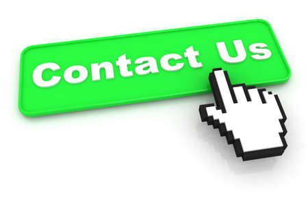 Contact Us Button with Mouse Cursor photo