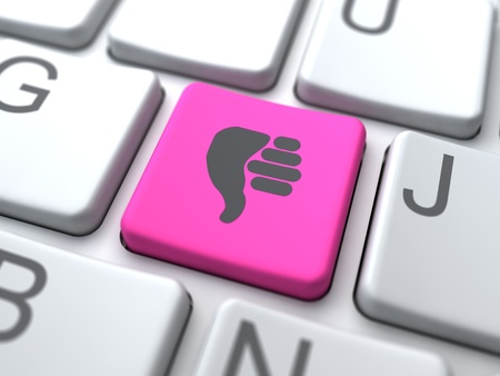 Dislike Web Button. Social Media Concept. Stock Photo - 12953428