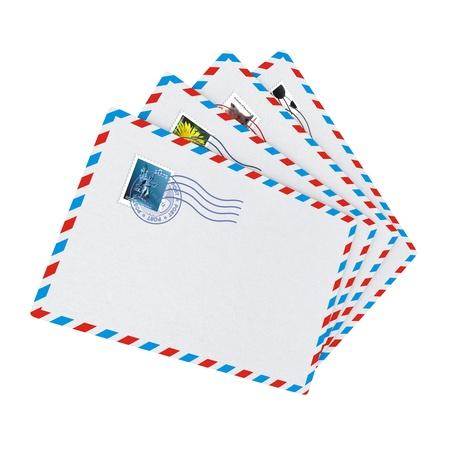 air mail: Internet Messaging Concept