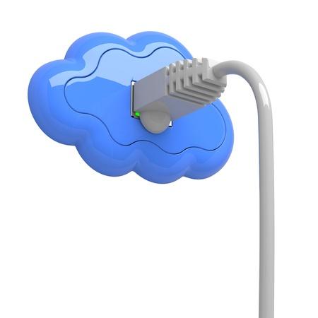 Cloud Computing Concept Stock Photo - 15222337