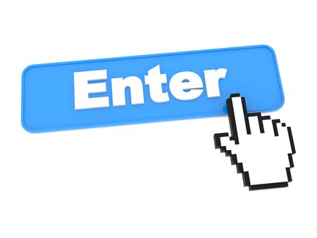 Enter Web Button  Stock Photo - 15313483