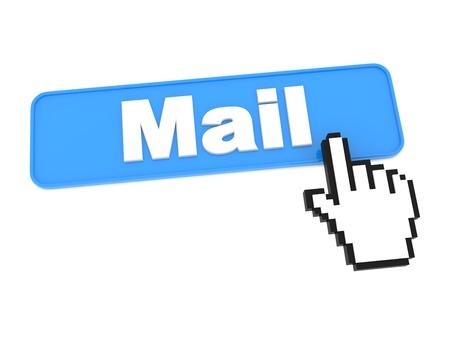 E-Mail Web Button  Stock Photo - 15313479