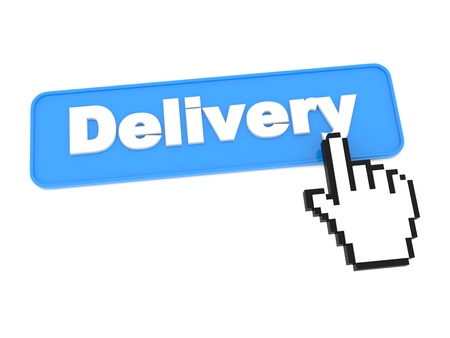 Web Delivery Button  photo