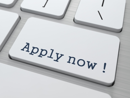 apply now: Apply Now Button on Modern Computer Keyboard  Stock Photo