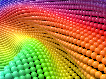 Colorful Abstract Background  3D Render  Stock Photo - 16457145