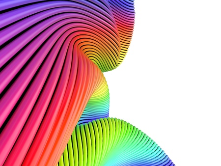 Abstract Colorful Background with Multi-Colored Strips Stock Photo - 16550085