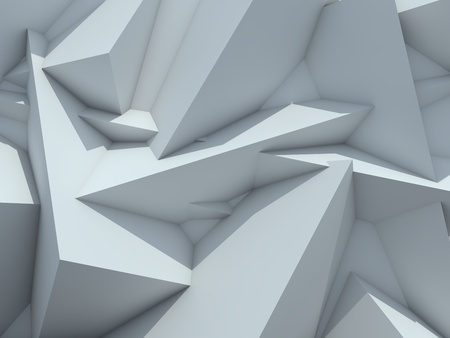 ray tracing: Crystallized Background  Abstract Futuristic Background