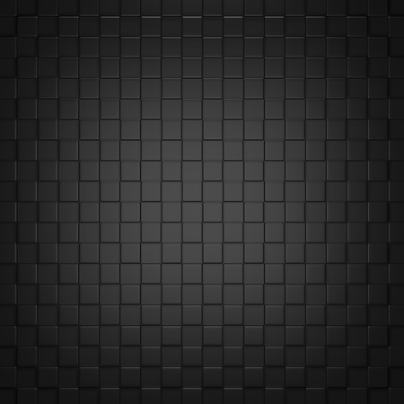 Abstract Black Background  3D Render Stock Photo - 17971847