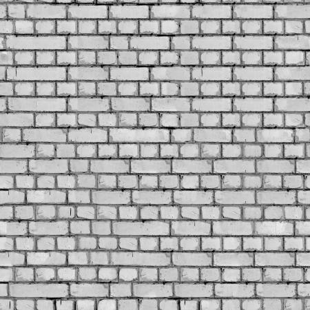 Grey Brick Wall Seamless Texture  photo