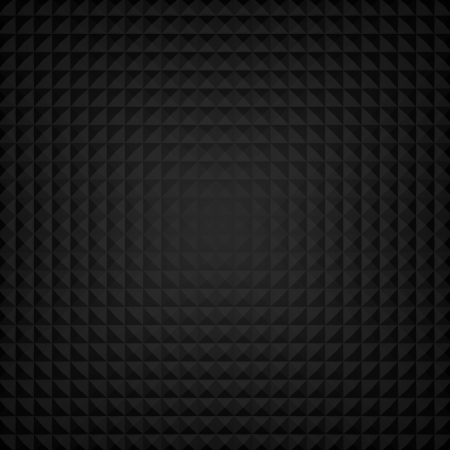Black Abstract Background Consisting of Rhombuses  Stock Photo - 18046648