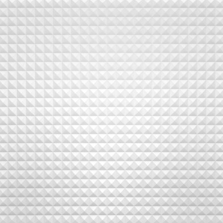 White Abstract Background Consisting of Rhombuses Stock Photo - 18046617