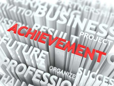 achievment: Achievement Background Design  The Word Cloud Concept