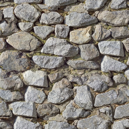 Stone Wall Texture with Cracks and Dirt Spots  Seamless Tileable Texture  photo
