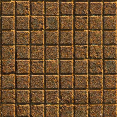 Rusty Iron  Seamless Tileable Texture  photo