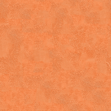 Wall Made with Orange Decorative Plaster  Seamless Tileable Texture  photo