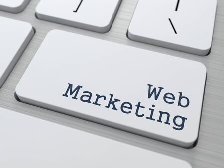 Web Marketing Concept  Button on Modern Computer Keyboard with Word Partners on It Stock Photo - 18975397