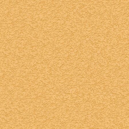 striated: Seamless Tileable Texture of Yellow Striated Stucco Wall