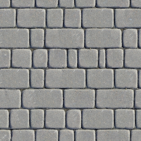 Seamless Tileable Texture of Paving Slabs  photo