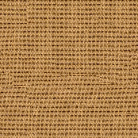 Seamless Tileable Texture of Old Brown Fabric Surface