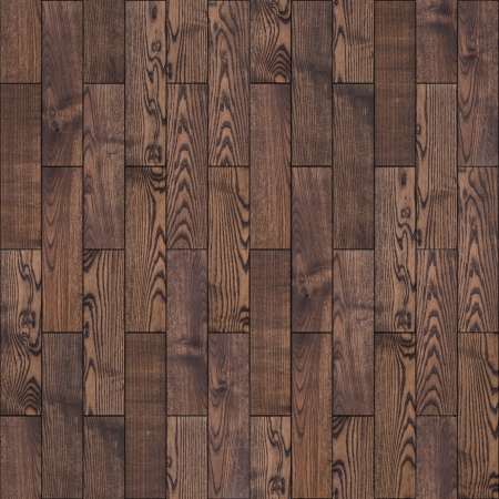 wood laminate: Brown Wood Parquet Floor  Highly Detailed Seamless Tileable Texture  Stock Photo