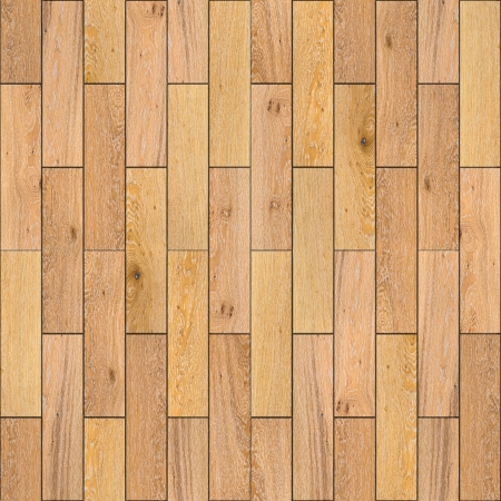 Yellow Wood Parquet Floor  Highly Detailed Seamless Tileable Texture  photo