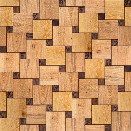 Wooden Parquet Floor  Highly Detailed Seamless Tileable Texture  photo