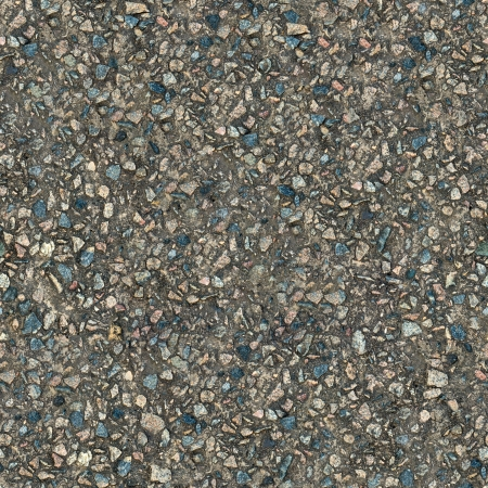 Old Cement Surface with Protruding Stones  Seamless Tileable Texture  photo