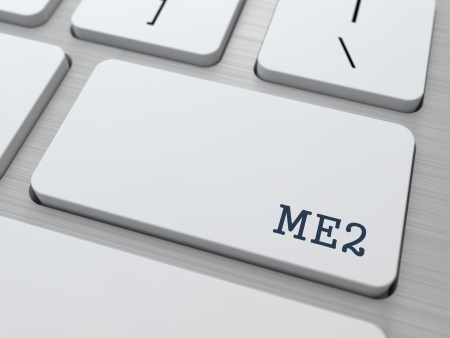 key words  art: ME2 - Me Too  Internet Concept  Button on Modern Computer Keyboard