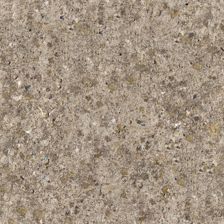 Seamless Texture of Weathered Old Concrete Surface is Covered with Moss. photo