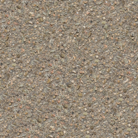 Seamless Tileable Texture of Old Asphalt Road with Protruding Stones. Small Size. photo