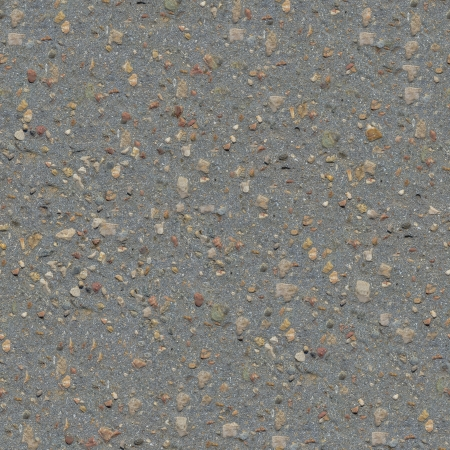 Seamless Tileable Texture of Old Asphalt Road with a Small Number of Protruding Stones. Stock Photo - 22361627