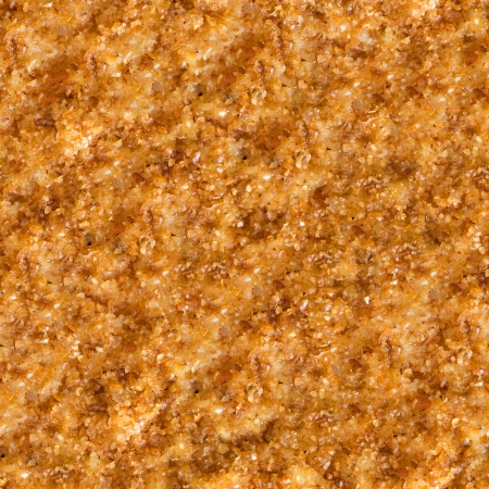 Seamless Tileable Texture of  Surface of Roast Meat in Breadcrumbs. Stock Photo