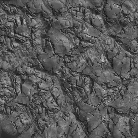 Piece of Coal - Closeup. Seamless Tileable Texture. photo