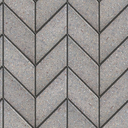 parallelogram: Gray Figured Parallelogram Pavement Laying as Spikelet   Seamless Tileable Texture  Stock Photo