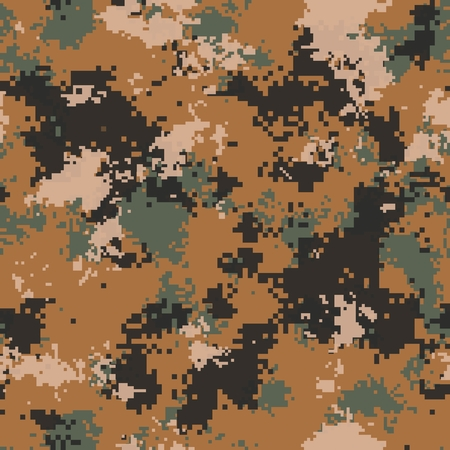 Desert Marpat Digital Camouflage. Seamless Tileable Texture. photo