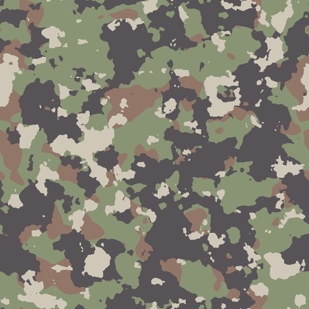 Woodland Summer Camouflage. Seamless Tileable Texture. photo