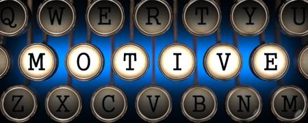 prompting: Motive on Old Typewriters Keys on Blue Background.