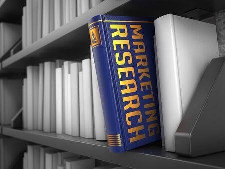 publicidad exterior: Investigaci�n De Mercados - Libro Azul sobre el Librero Negro entre los blancos