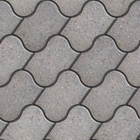 figured: Gray Figured Pavement Slabs. Seamless Tileable Texture.