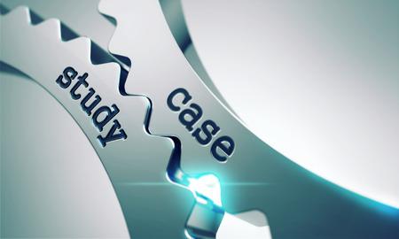 Case Concept étude sur le mécanisme de métal brillant Gears. Banque d'images - 34793039