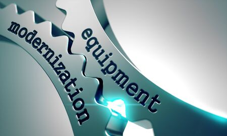 modernization: Equipment Modernization on the Mechanism of Metal Gears.