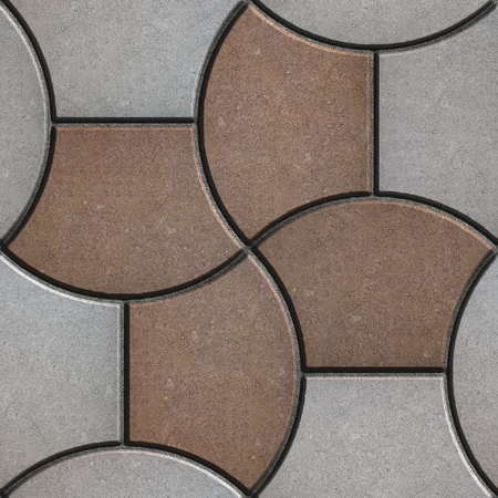 trapezoid: Pattern Pavement in the Form of a Trapezoid