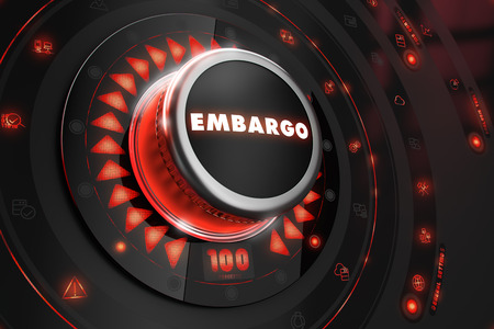pressure loss: Embargo Regulator on Black Control Console with Red Backlight