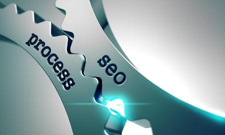 金属歯車の機構の Seo のプロセス。