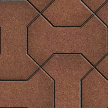 comprising: Pattern Comprising Polygons Red-Brown. Seamless Tileable Texture.